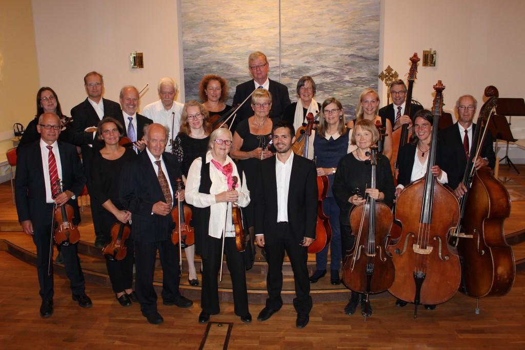 Mellersta Upplands Kammarorkester, 2013. Foto Erik Östlund.